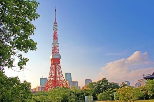 青空と東京タワー