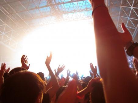 大喝采のライブ