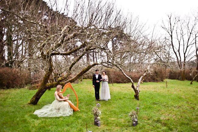 アイルランドの結婚式のインスピレーション