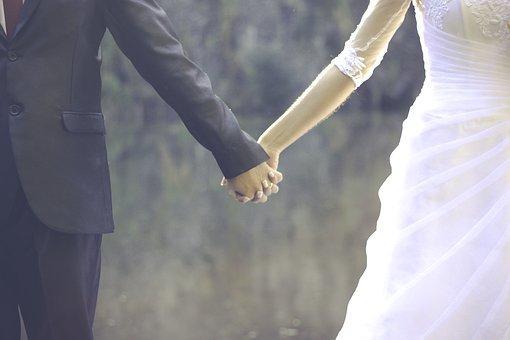 結婚, 愛, 新郎, 連合, 同盟, カザール, ロマンチックな, 結婚指輪