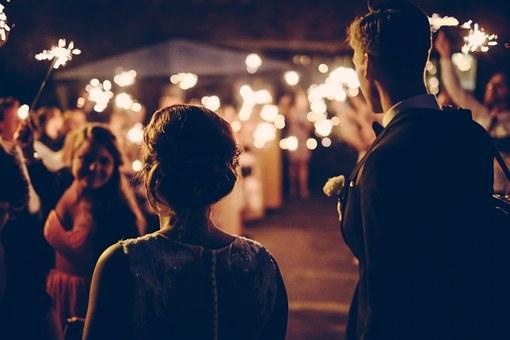 結婚, 祝賀, 人, 結婚式, 愛, 幸せ, カップル, 式, 装飾