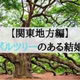 関東地方編シンボルツリーのある結婚式場