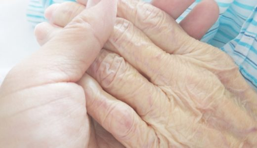 おばあちゃんと孫の手